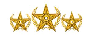 Gold Package Emblem